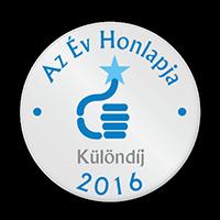 Év Honlapja 2016 - Különdíj