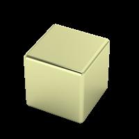 14-karat green gold