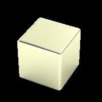 22-karat white gold
