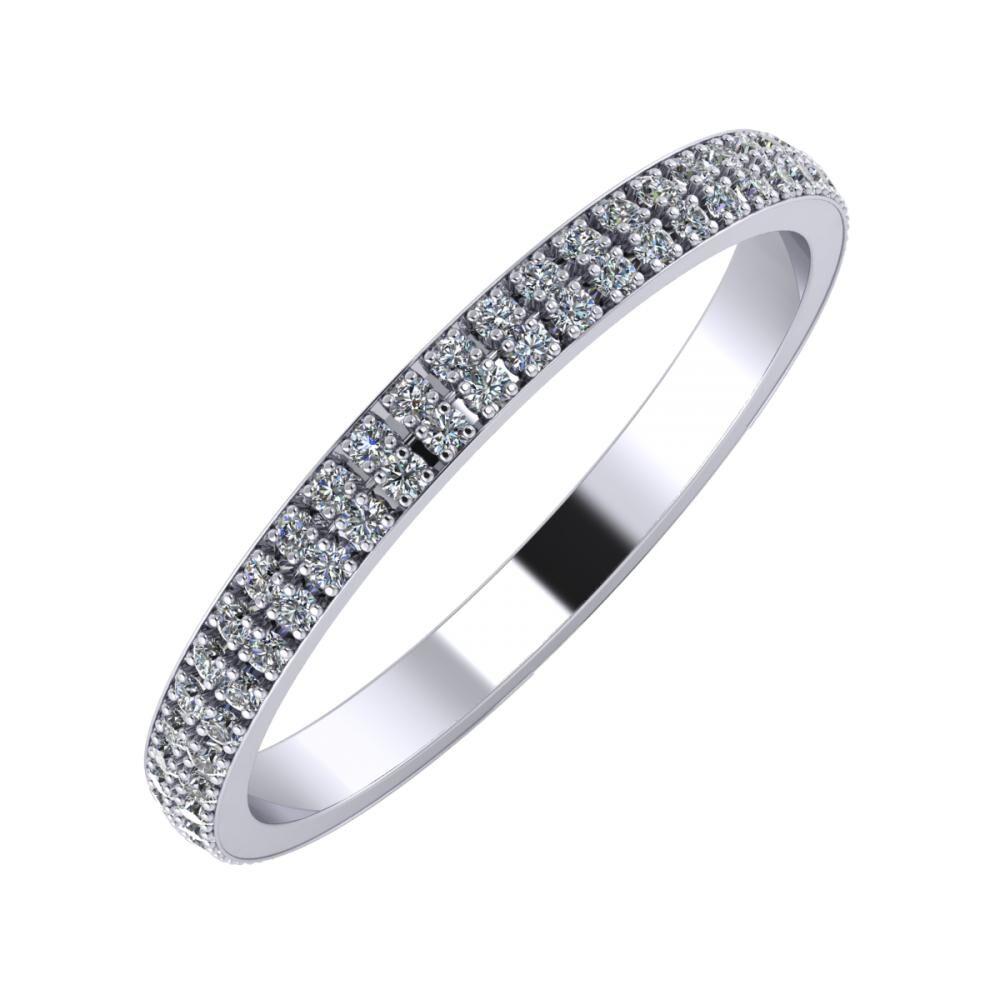 Alóma 2mm platinum wedding ring