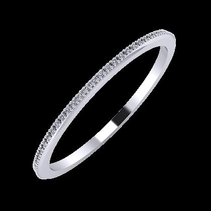 Alóma 1mm platinum wedding ring